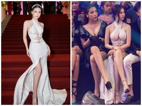 SAO ĐỤNG HÀNG THÁNG 4: Áp đảo Quỳnh Thư nhưng Đỗ Mỹ Linh vẫn phải nhường bước trước Hương Giang khi mặc chung váy-7