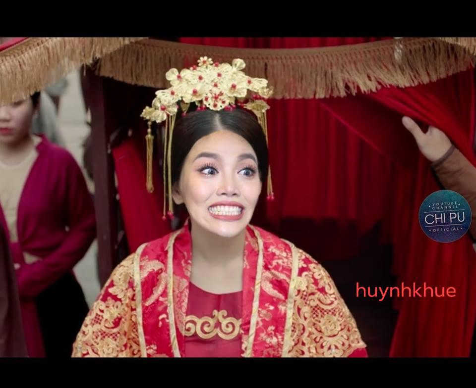 Thay Chi Pu vào vai Cám trong MV mới, Lan Khuê suýt khiến vua ngất với biểu cảm không thể hài hơn-4