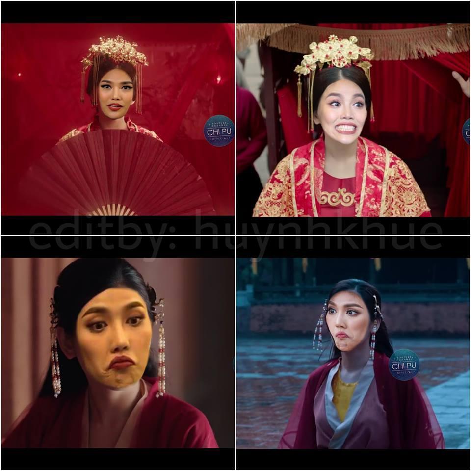 Thay Chi Pu vào vai Cám trong MV mới, Lan Khuê suýt khiến vua ngất với biểu cảm không thể hài hơn-8