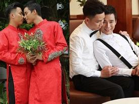 Đám cưới vượt khoảng cách giới tính của cặp trai đẹp ở Kiên Giang đang sốt rần rần cộng đồng LGBT