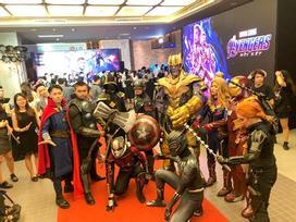 Rạp kín chỗ ở suất chiếu sớm bom tấn 'Avengers: Endgame' tại Hà Nội