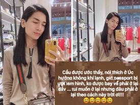 Đi lưu diễn mà shopping như đi buôn, BB Trần bất ngờ bị 'giữ' lại Úc vì lý do chẳng ai ngờ