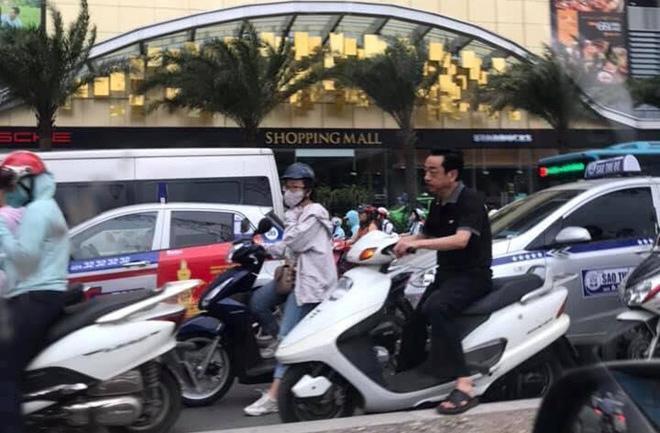 Người phán xử Hoàng Dũng nhận sai khi đi xe không đội mũ bảo hiểm-1
