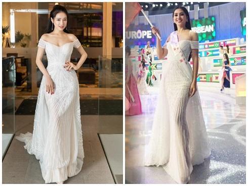 SAO ĐỤNG HÀNG THÁNG 4: Áp đảo Quỳnh Thư nhưng Đỗ Mỹ Linh vẫn phải nhường bước trước Hương Giang khi mặc chung váy-2