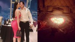 Người đẹp từ chối Trường Giang chuẩn bị phòng đẹp như tân hôn chỉ để mừng sinh nhật bạn trai Tiến Vũ