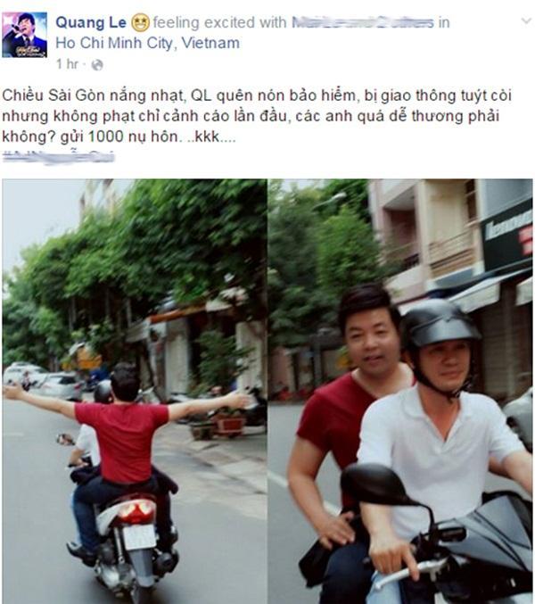 Nói không với mũ bảo hiểm khi xuống phố, dàn sao Việt gây phẫn nộ vì biết luật nhưng vẫn phạm luật-5