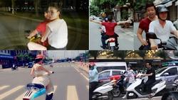 Nói không với mũ bảo hiểm khi xuống phố, dàn sao Việt gây phẫn nộ vì biết luật nhưng vẫn phạm luật