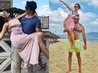 Chia tay bạn trai chung quốc tịch, em gái siêu mẫu Hà Anh vui duyên mới với cuộc tình xuyên biên giới