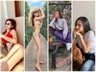 Hà Hồ - Kỳ Duyên diện bikini phô trọn vòng 3 bốc lửa trong khi Angela Phương Trinh kín đáo như nữ sinh