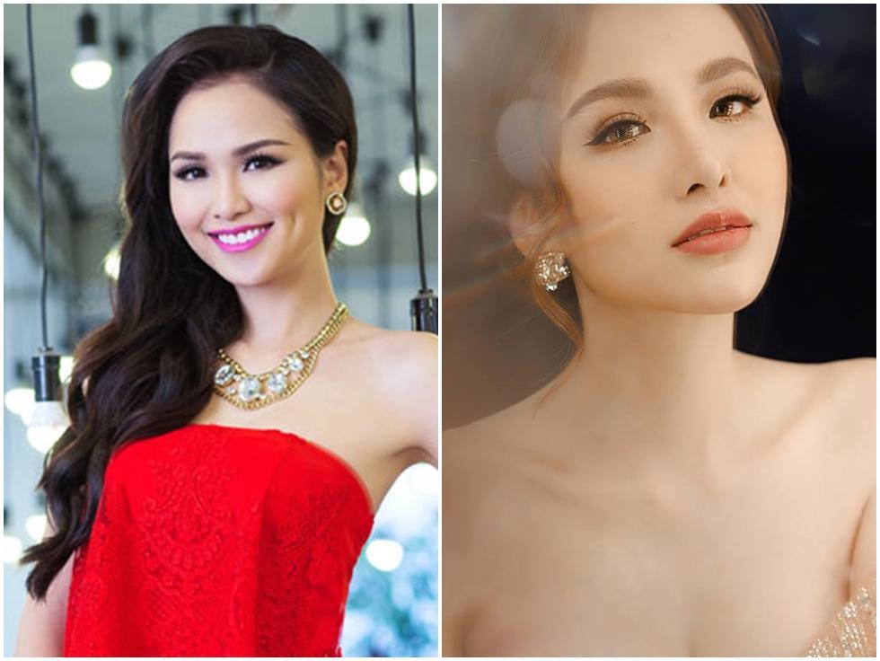 Hoa hậu Diễm Hương làm lố khi mặc áo dài và trang điểm lồng lộn để phục vụ sinh tố-7