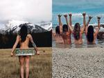 Trào lưu chụp ảnh khỏa thân của giới trẻ Australia khi đi du lịch