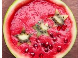 Cách làm sinh tố trái dừa đẹp mắt giải nhiệt ngày nóng bức