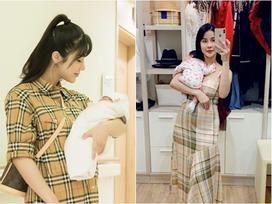 Mới sinh con đầu lòng được 5 tháng, Diệp Lâm Anh lại hồ hởi thông báo mang bầu lần hai