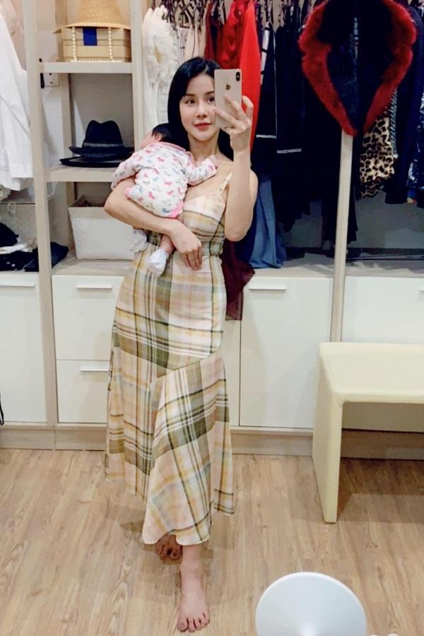 Mới sinh con đầu lòng được 5 tháng, Diệp Lâm Anh lại hồ hởi thông báo mang bầu lần hai-5
