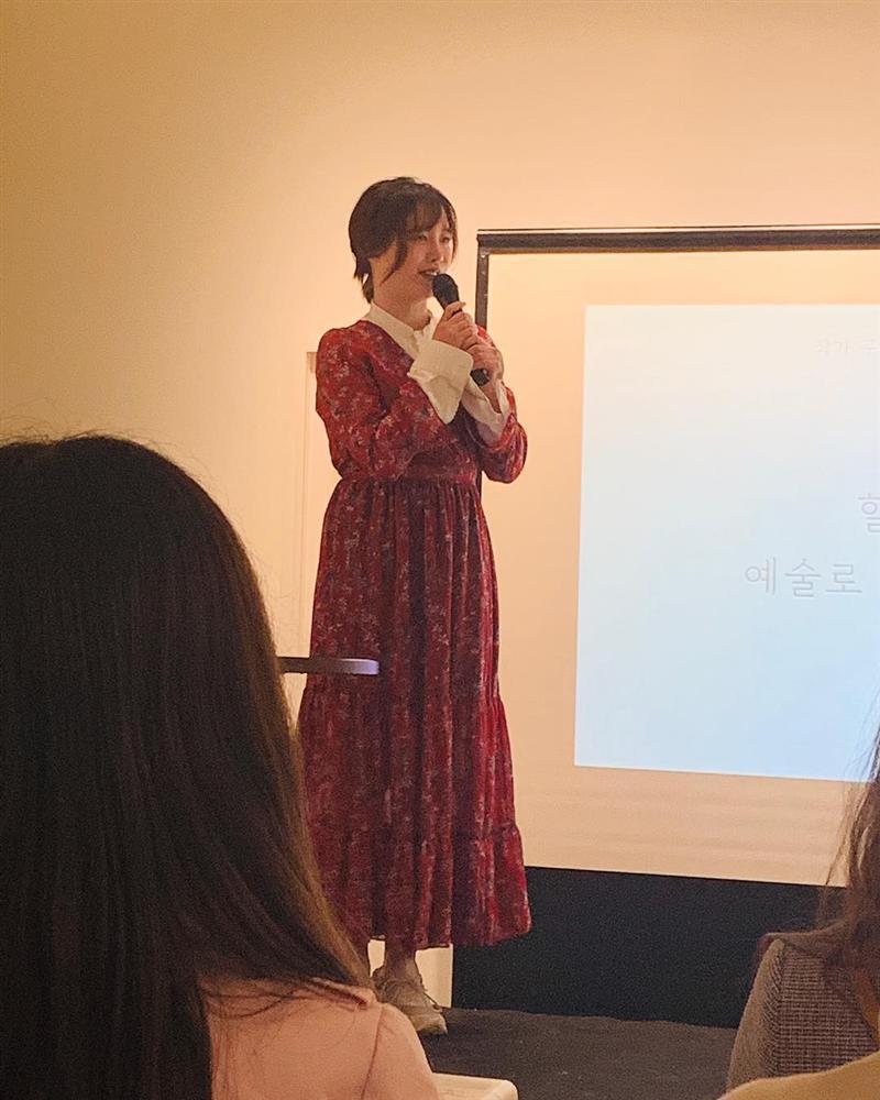 Lộ vòng 2 lớn lên trông thấy, nàng cỏ Goo Hye Sun đang mang thai con đầu lòng?-1