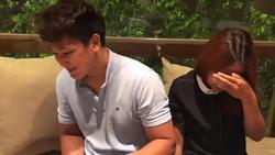 Lộ diện em trai Hari Won và bạn gái người Việt trong bữa ăn cùng Trấn Thành