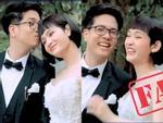 Hết hôn trán rồi thả thính, Bùi Anh Tuấn lại nắm tay Hiền Hồ cực tình tứ trong lần đầu hát live Cưới Nhau Đi-1