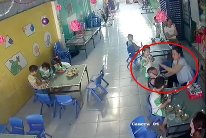 Đình chỉ cô giáo đánh vào đầu trẻ vì không nuốt kịp ở Long An-1