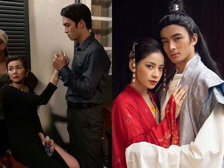 Lộ ảnh 'Hoàng thượng' trong MV mới của Chi Pu nắm chặt tay 'chị đại' Thanh Hằng
