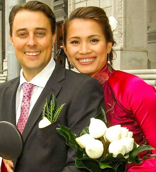 Chia tay người chồng tù tội, Hoa hậu Việt Nam lệch chuẩn nhất tận hưởng hôn nhân thứ hai đẹp như mơ giữa trời tây-4
