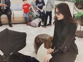 Hoa hậu Thu Thảo bỗng dưng thấy mình giống 'kẻ bắt cóc trẻ em'