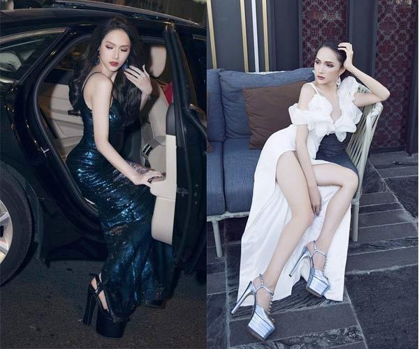 Những pha đi giày cáo gót nhìn muốn rợn tóc gáy của người đẹp Việt-2