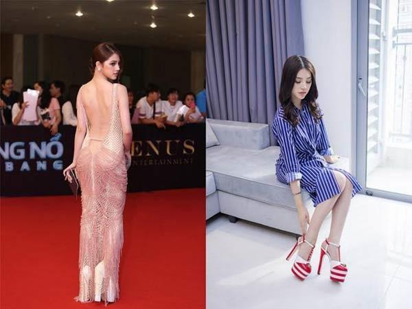 Những pha đi giày cáo gót nhìn muốn rợn tóc gáy của người đẹp Việt-8