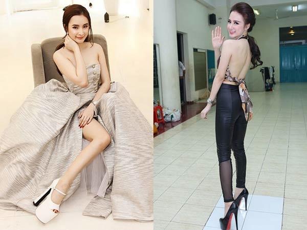 Những pha đi giày cáo gót nhìn muốn rợn tóc gáy của người đẹp Việt-9