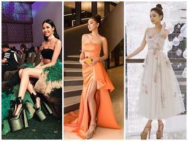 Những pha đi giày cáo gót nhìn muốn 'rợn tóc gáy' của người đẹp Việt