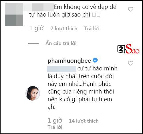 Sau lời khuyên kém sang đầu thai để đẹp như chị, Phạm Hương lại gây bất ngờ khi bàn chuyện đẹp - xấu cùng fan-2