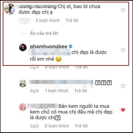 Sau lời khuyên kém sang đầu thai để đẹp như chị, Phạm Hương lại gây bất ngờ khi bàn chuyện đẹp - xấu cùng fan-5