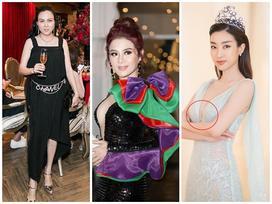 SAO MẶC XẤU: Phượng Chanel mặc hàng hiệu như váy ngủ - Đỗ Mỹ Linh lộ nội y kém duyên
