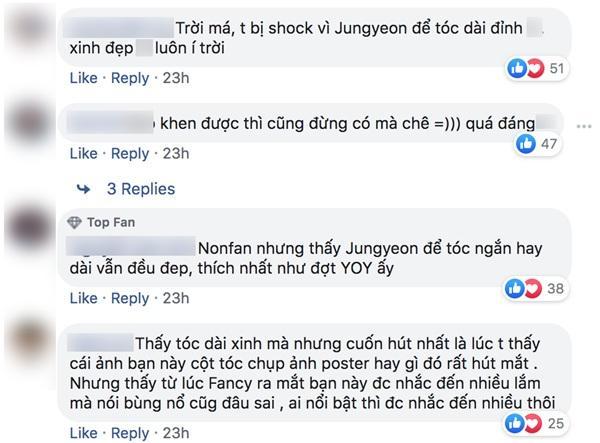 Cùng để tóc dài nhưng nếu Jeong Yeon (Twice) được fan Việt khen ngợi thì fan Hàn lại chê tơi tả-7