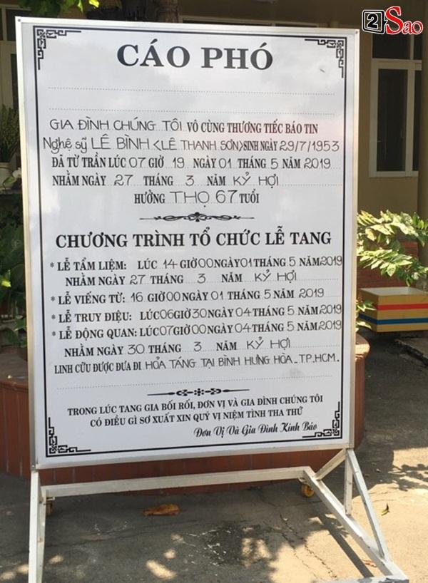 Ốc Thanh Vân đến sớm phụ giúp gia đình nghệ sĩ Lê Bình trước giờ diễn ra lễ viếng-1