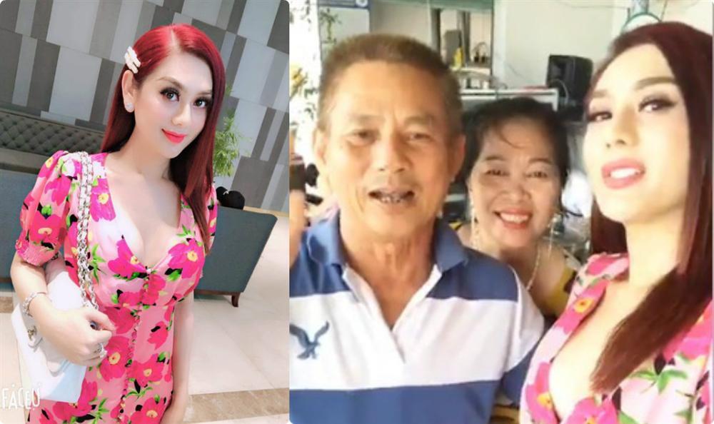 Bị ném đá khoe hàng, bố chồng Lâm Khánh Chi: Con cứ mặc thoải mái-1