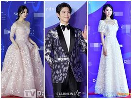 Thảm đỏ Baeksang 2019: Suzy tăng cân vẫn xuất sắc tranh spotlight với 'nữ thần' IU