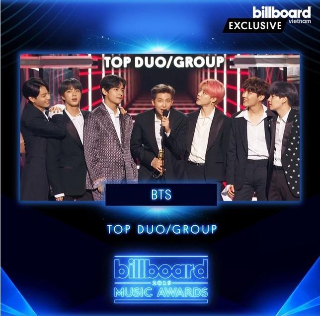 Ẵm trọn bộ đôi cúp vàng Billboard Music Awards 2019, BTS lập kỳ tích chưa từng xảy ra trong làng nhạc Hàn Quốc-4