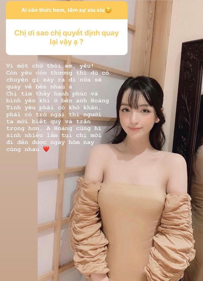 Bạn gái thiếu gia Phan Hoàng trả lời lý do tái hợp: Vì còn thương-1