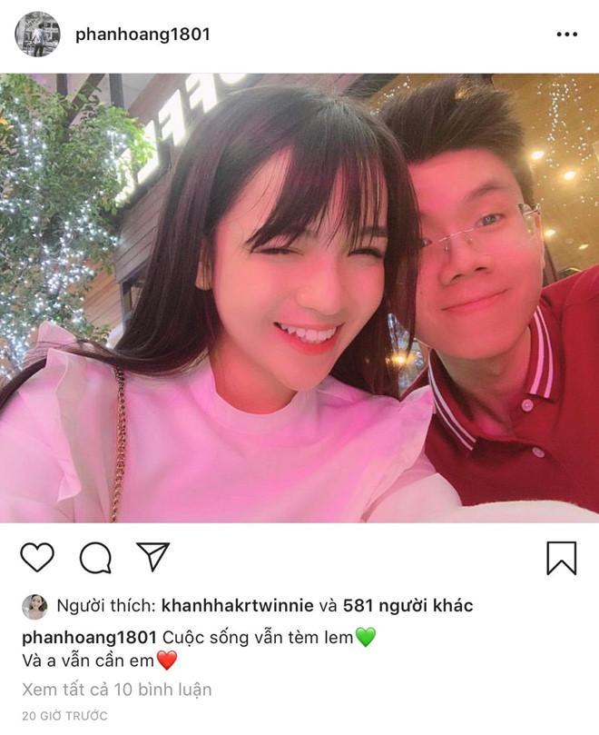 Bạn gái thiếu gia Phan Hoàng trả lời lý do tái hợp: Vì còn thương-2