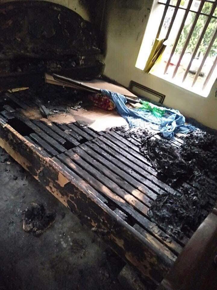 Hà Nam: Bực tức sau cuộc cãi vã, con gái mua xăng đốt mẹ lúc nửa đêm-1