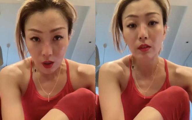 Diva Hong Kong xuất hiện sau khi chồng ngoại tình với á hậu-1