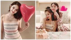Đón sinh nhật 27 tuổi nhẹ nhàng bên chị gái, Cổ Lực Na Trát khoe nhan sắc xinh đẹp không tì vết
