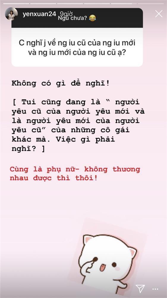 Bị hỏi khó về tình cũ của bạn trai, người yêu Lâm Tây chỉ nói một câu sâu sắc thế này thôi-2