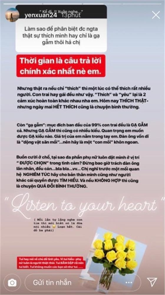 Bị hỏi khó về tình cũ của bạn trai, người yêu Lâm Tây chỉ nói một câu sâu sắc thế này thôi-3
