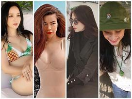 STREET STYLE nghỉ lễ: Angela Phương Trinh, Đặng Thu Thảo kín như bưng giữa dàn mỹ nhân diện bikini bốc lửa