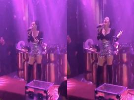 Nghe lời khuyên của Adele, Chi Pu khôn khéo nhờ khán giả 'đỡ hộ' phần nốt cao khi hát live 'Anh ơi ở lại'