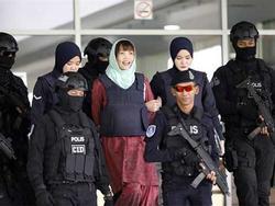 Đoàn Thị Hương được Malaysia trả tự do lúc 7h20