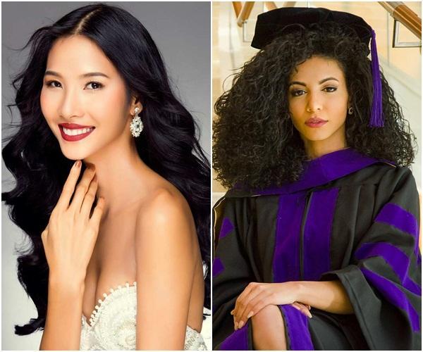 Hoàng Thùy gặp đối thủ cực mạnh tại Miss Universe 2019: Vẻ đẹp diva, cơ bụng 6 múi và khối óc tuyệt vời-12