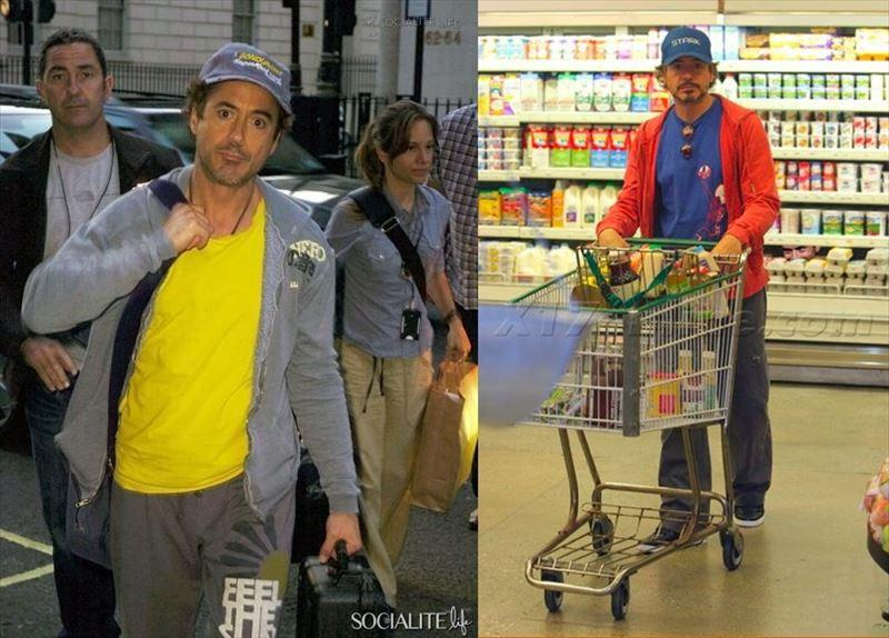 Hoa mắt với thời trang ngoài đời của Iron Man Robert Downey Jr: đố ai tìm được màu nào chú đây chưa thử?-8