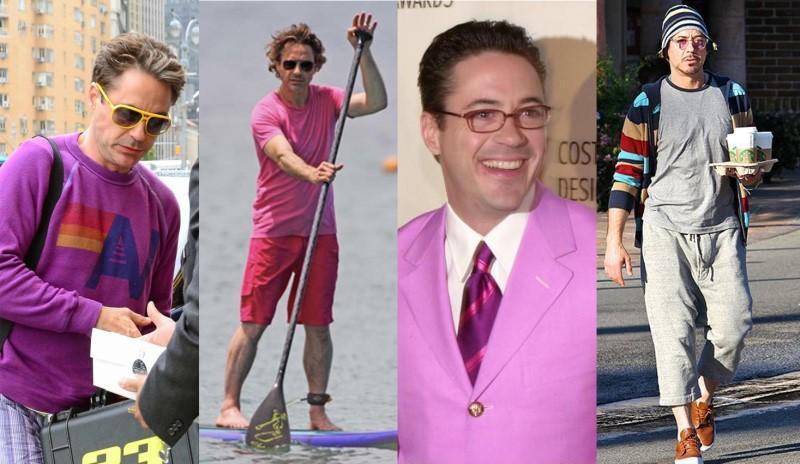 Hoa mắt với thời trang ngoài đời của Iron Man Robert Downey Jr: đố ai tìm được màu nào chú đây chưa thử?-11